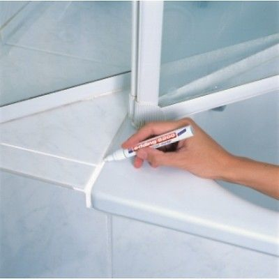 EDDING 8200 TILE GROUT MARKER WHITE   PROFESSIONAL QUALITY. 8200 TILE GROUT MARKER WHITE   PROFESSIONAL QUALITY